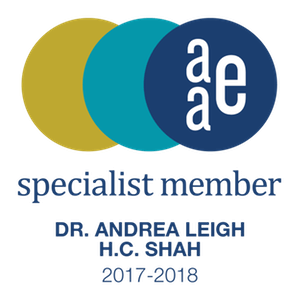 Andrea Chung Shah, DMD AAE Specialist Member