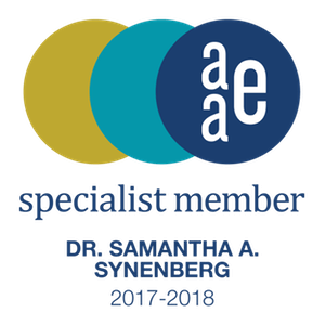 Samantha A. Synenberg, DDS AAE Specialist Member