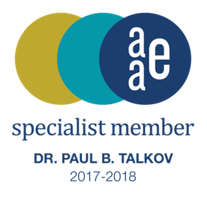 Paul B. Talkov, DMD, CAGS AAE Specialist Member